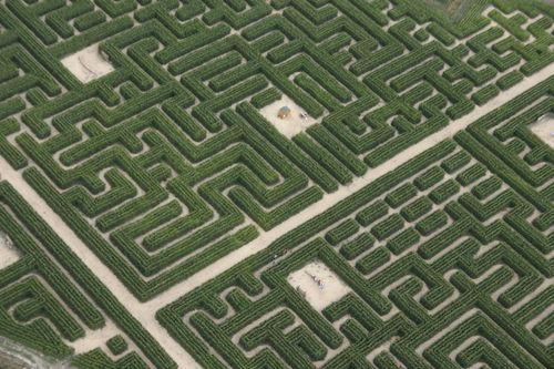 Le labyrinthe du Touquet