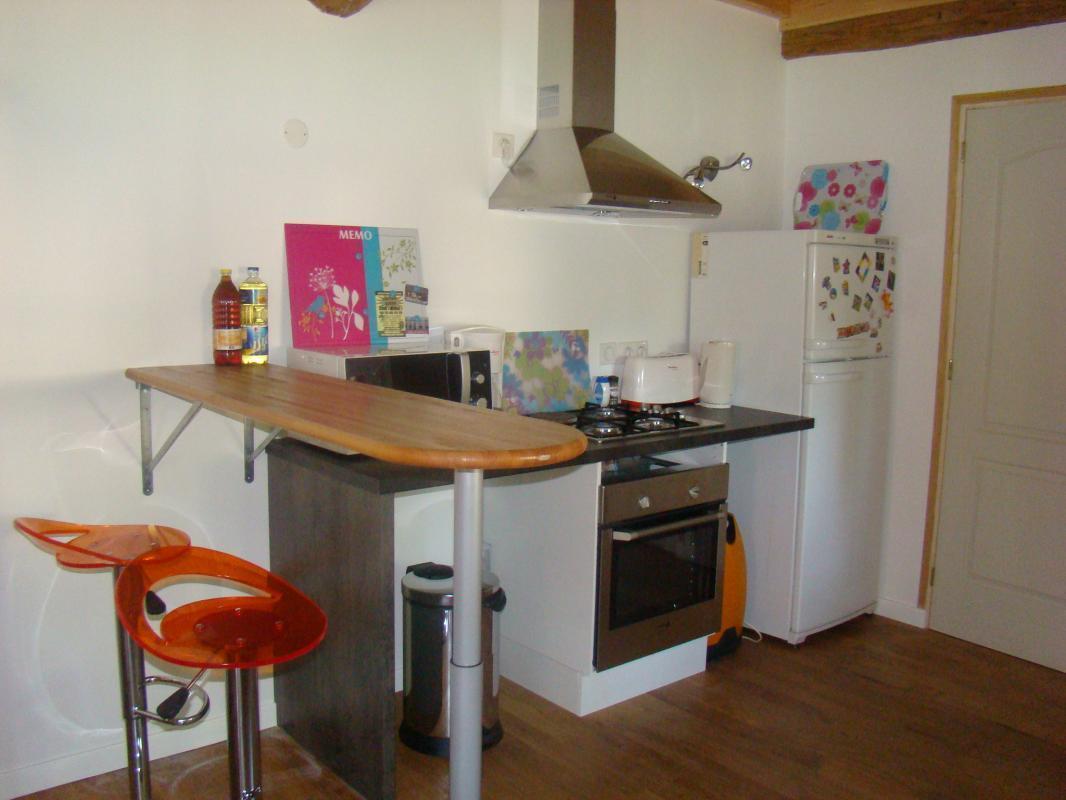 La cuisine est totalement équipée, comme à la maison !